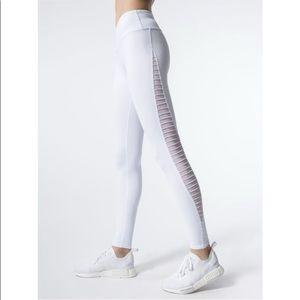 ALO Yoga Luminous Legging In Mesh White